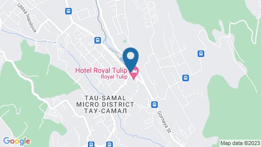 Royal Tulip Almaty Map