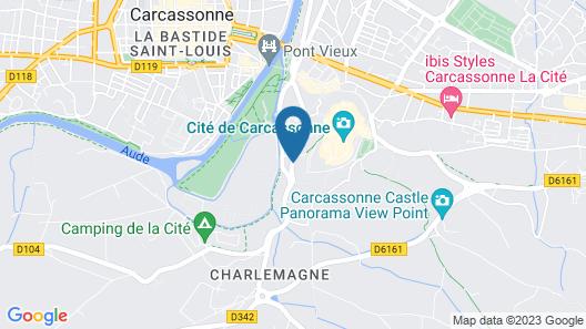 Adonis Carcassonne - Résidence la Barbacane Map
