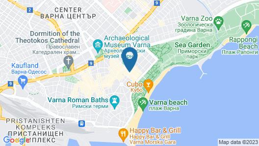 Hotel & Casino Cherno More Map