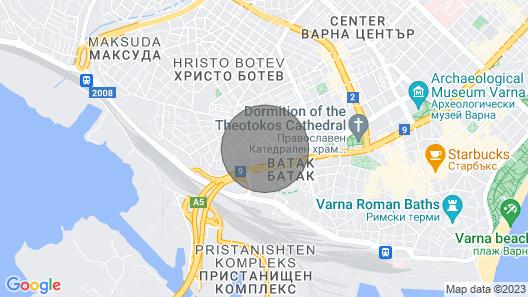 Romantica CENTRAL 1-BDR Apartment Map