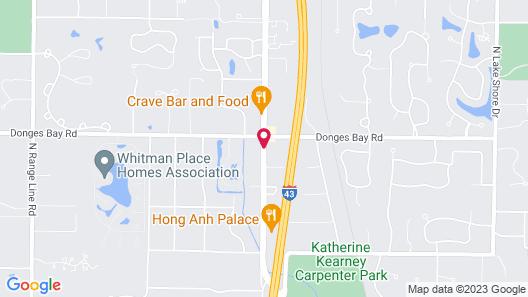 Baymont by Wyndham Mequon Milwaukee Area Map