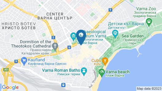 FM Luxury 1-BDR Apartment - Stylish Retreat Map