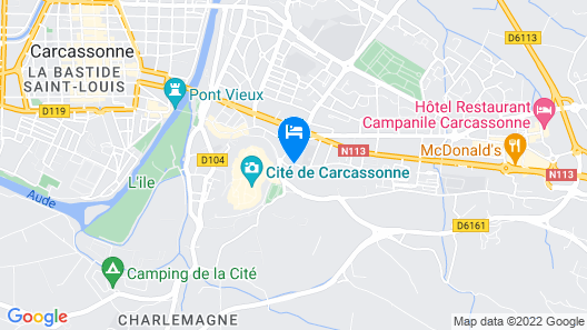 Hôtel Montmorency Map