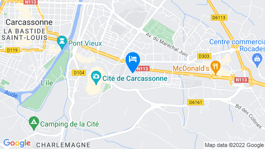 Maison Mignardise-Cite Map