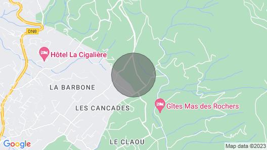 Mas Provençal, Private Heated Pool, Spa, Absolute Calm Map