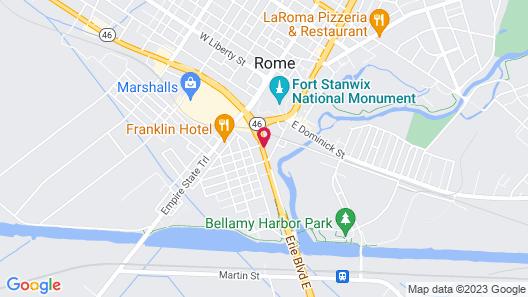 Relax Inn Map