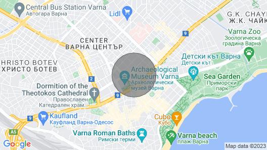 FM Premium 2-BDR Apartment - Made of Wood - Varna Map