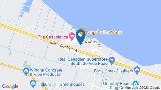 Super 8 by Wyndham Grimsby Ontario Map