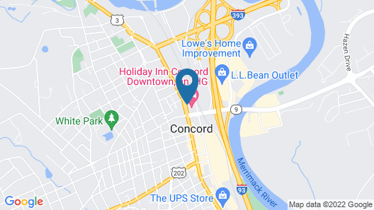 Holiday Inn Concord Downtown, an IHG Hotel Map