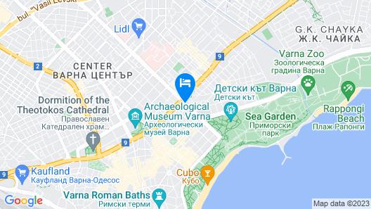 Hotel Orbita Map