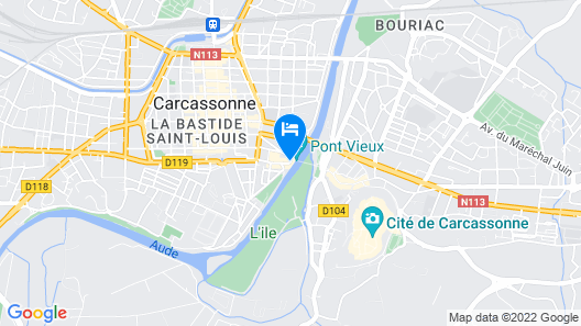 Tribe Carcassonne (Opening June 2021) Map