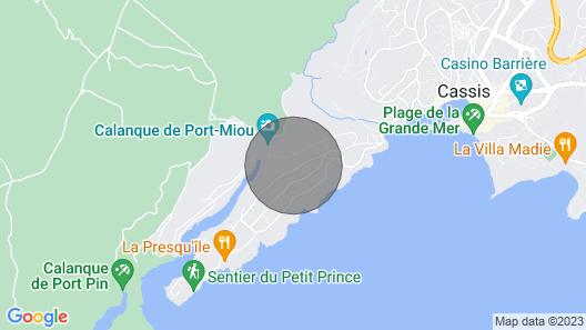 Calanque de Port Miou Studio - 2 Minutes Walk From the Calanque Map