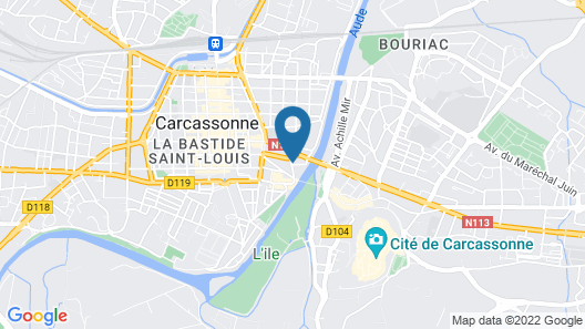 DoubleTree by Hilton Carcassonne, France Map