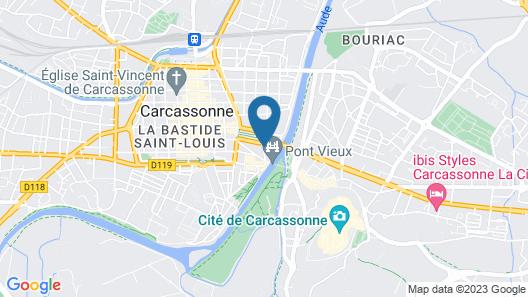 SOWELL HÔTELS Les Chevaliers Map