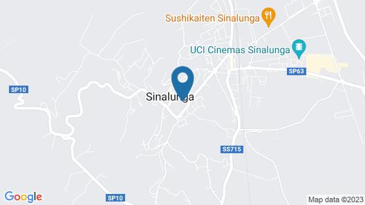 Fonte del Castagno Map
