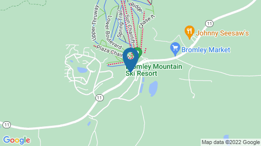 The Lodge at Bromley Map