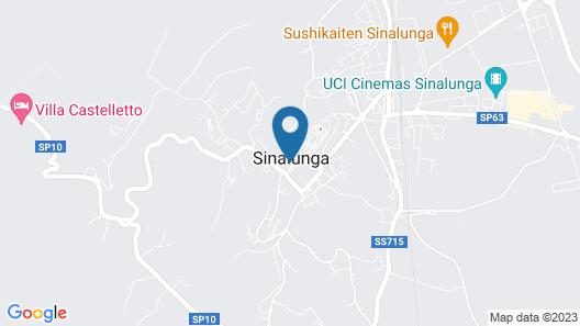 Locanda dell'Amorosa Map