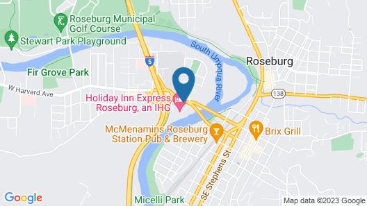 Holiday Inn Express Roseburg, an IHG Hotel Map