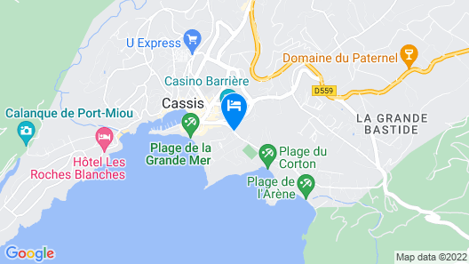 Le France Maguy Map