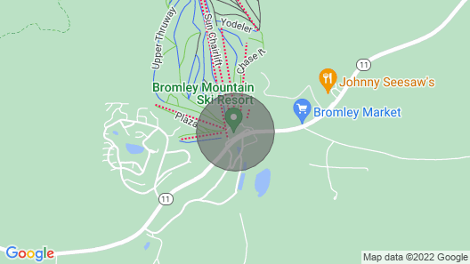 Classic Aframe by Brook - 5 Minutes to Ski & Hikes Map