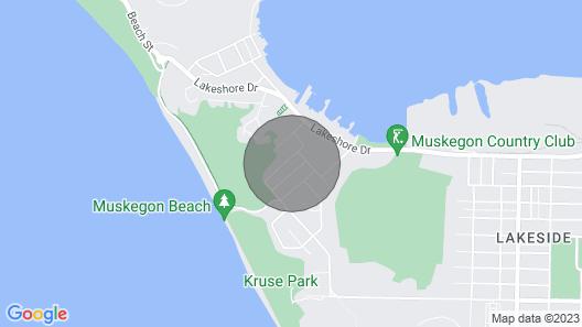 Bluffton Beach House Map