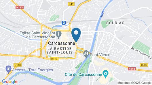 Au Royal Hôtel Map