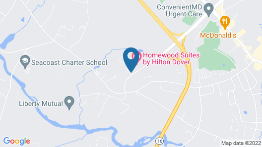 Homewood Suites by Hilton Dover Map