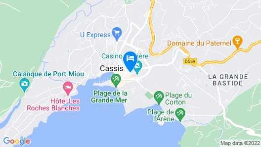 Sure Hotel by Best Western Coeur De Cassis Map