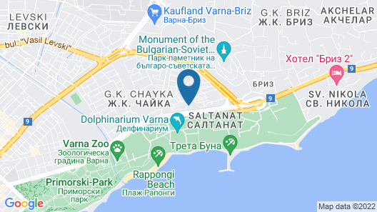 Amiral Hotel Map