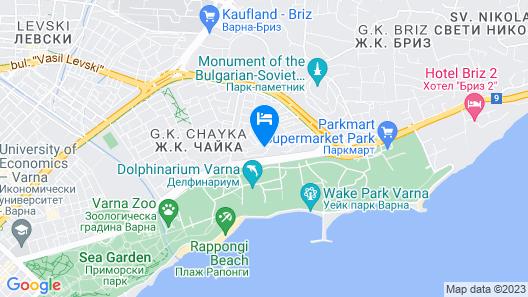 Park Hotel ex. Best Western Park Hotel Map