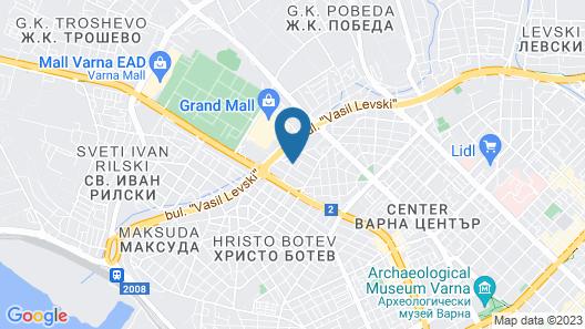 Family Hotel Gran Ivan Map