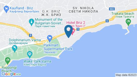 Saint Nikola Holiday Complex Map