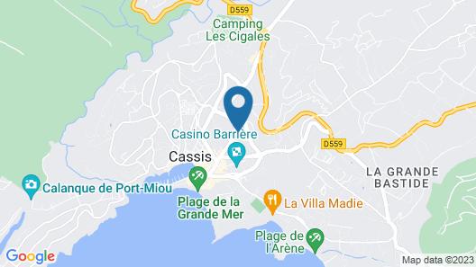 Hôtel Particulier Cassis Map
