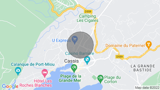 Apartment/ Flat - Cassis Map
