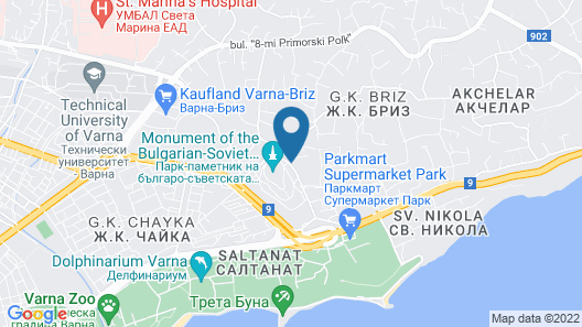 Green space in the city-Akvarel 3 Map