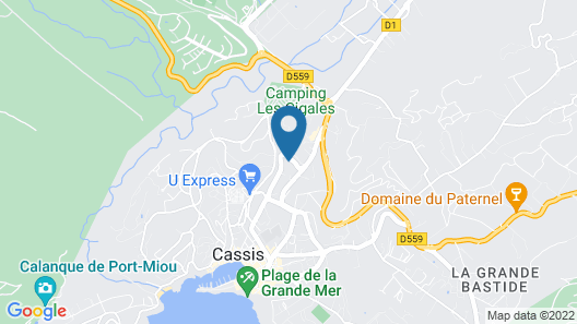 The Address Cassis Map