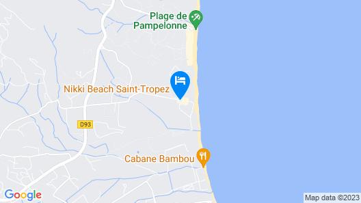 Epi Baie de Pampelonne Map