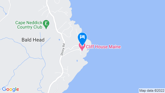 Cliff House Maine Map