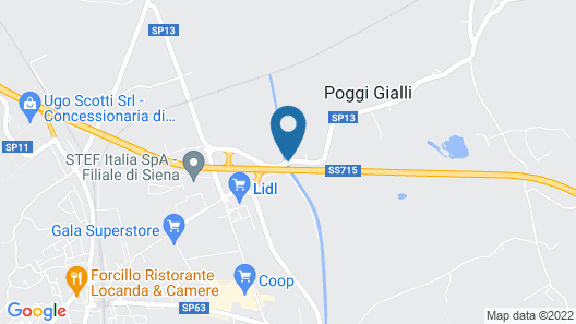 La Pia Dama - Residence Map