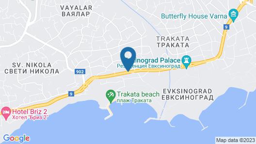 Marina Residence Boutique hotel Map