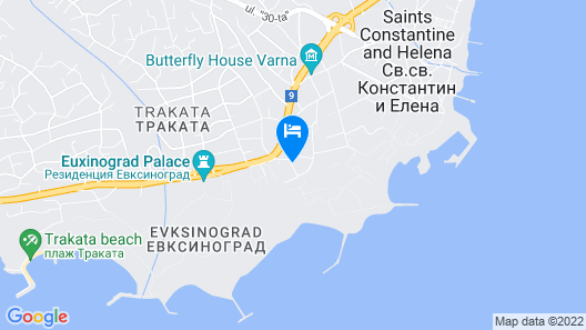 Hotel Amfora Map