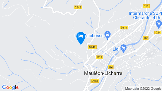 Domaine Agerria Map