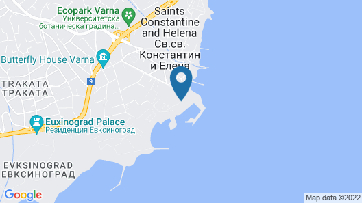 Hotel Dolphin - All Inclusive Map