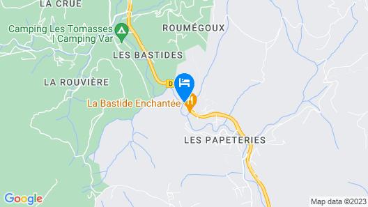 Les Bastides du Gapeau Map