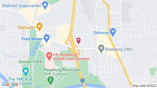 Windmill Inn of Roseburg Map