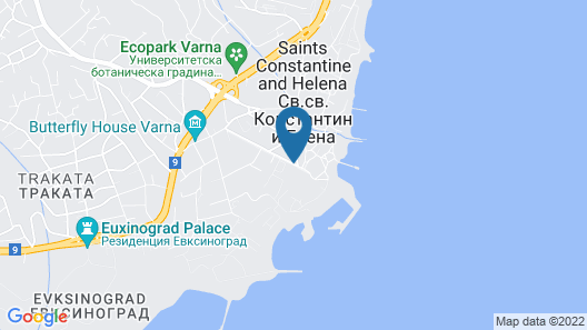 Grand Hotel Varna Map
