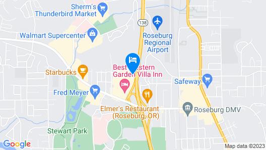 Days Inn by Wyndham Roseburg Map