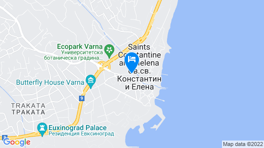 Estreya Palace & Residence Map