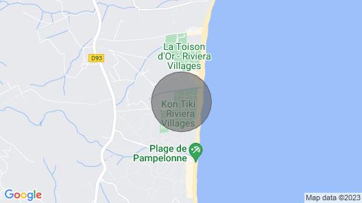 SEA View Campsite KON Tiki Beach Pampelonne - Gulf Saint Tropez Mobil Home Moorea Map