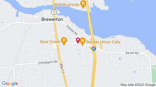 Days Inn by Wyndham Brewerton/ Syracuse near Oneida Lake Map
